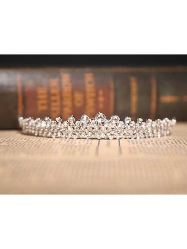 Beautiful Czech Rhinestones Wedding Party Headpiece