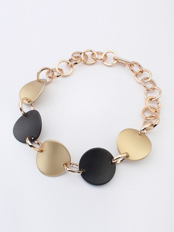 Occident Retro Punk Annular Catenin Fashion Necklace