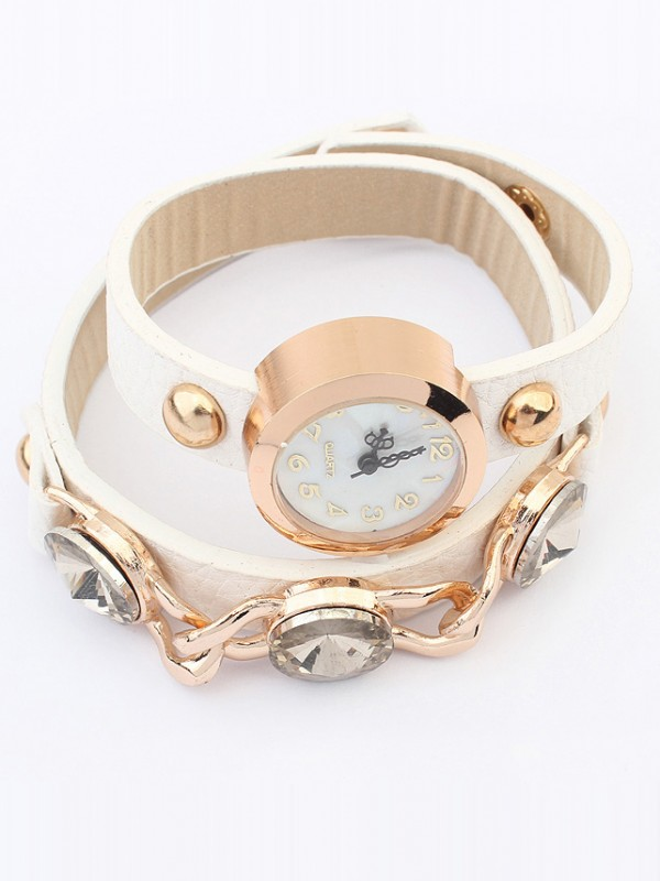 Occident Stylish Trendy Retro Fashion Bracelet Watch