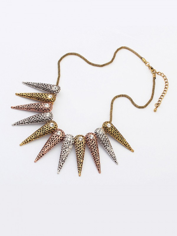 Occident Hyperbolic Exotic Punk Conical Fashion Necklace