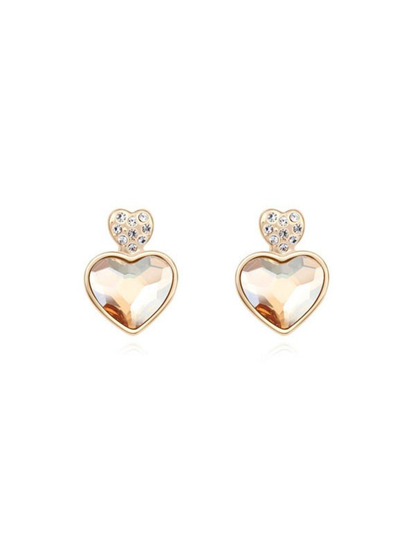 Austria Crystal Stud Fashion Earrings