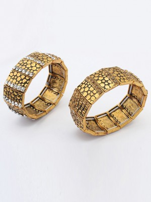 Occident Exotic Personality Wide version Elasticity Fashion Bracelet