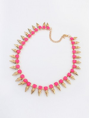 Occident Hyperbolic Conical Punk Simple Fashion Necklace