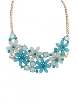 Occident Flowers Blossoming Stylish all-match Fashion Necklace